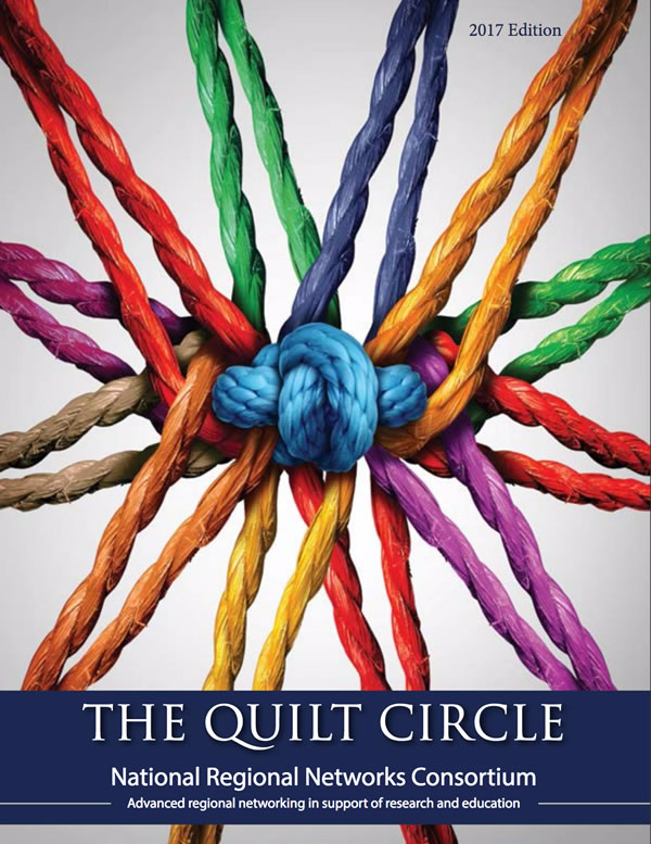 Edge Featured Article in The Quilt Circle