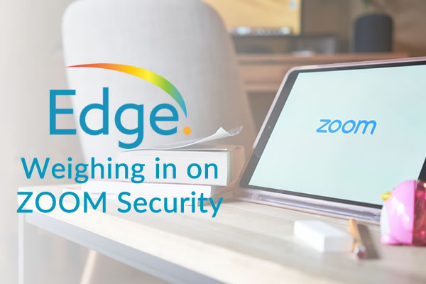 Weighing in on ZOOM Security