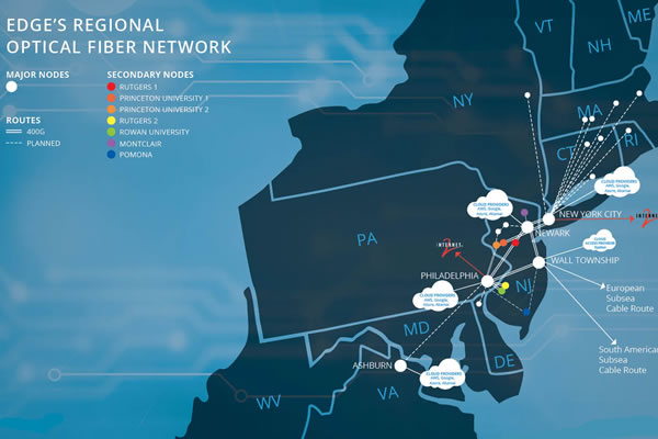 Edge's Regional Optical Fiber Network