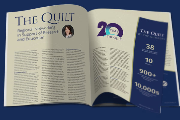The Quilt Regional Networking in Support of Research and Education